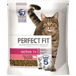 Perfect Fit Cat Active 1+ reich an Rind 1,4kg