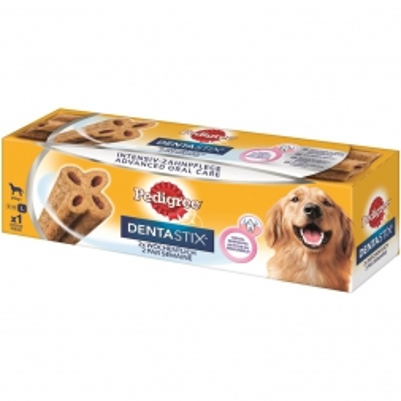 Pedigree Snack DentaStix 2 x wöchentlich mittelgroße Hunde 120g (Menge: 6 je Bestelleinheit)
