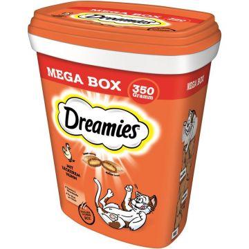 Dreamies Cat Snack mit Huhn 350g Mega Box (Menge: 2 je Bestelleinheit)