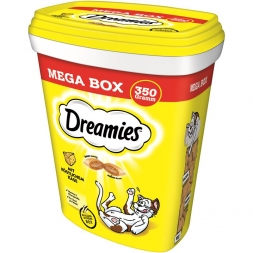 Dreamies Cat Snack mit Käse 350g Mega Box (Menge: 2 je Bestelleinheit)