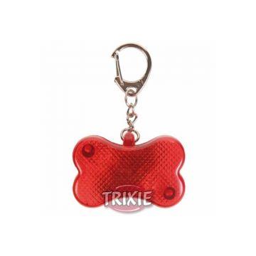 Trixie Flasher für Hunde 4,5 × 3 cm, rot