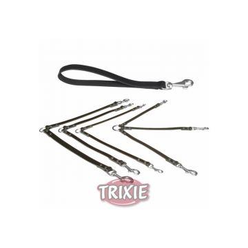 Trixie Koppel Basic M bis L: 35 cm 18 mm, schwarz