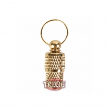 Trixie Adressanhänger gold