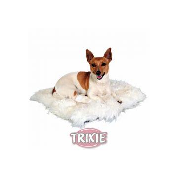 Trixie Schaffell Kissen 45 × 45 cm, wollweiß