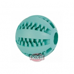 Trixie Denta Fun Baseball, Mintfresh, Naturgummi  7 cm