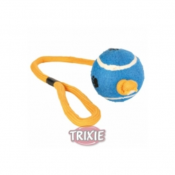 Trixie Tennisball am Seil  6 cm 50 cm