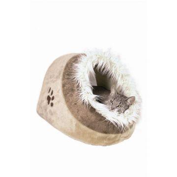 Trixie Kuschelhöhle Minou 35 × 26 × 41 cm, beige braun