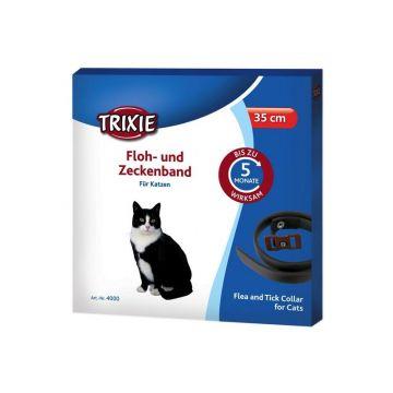 Trixie Floh  und Zeckenband, Katze 35 cm, braun