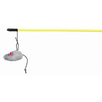 Trixie Spielangel mit Plüschmaus 50 cm