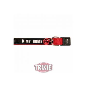 Trixie Katzenhalsband mit Adresslasche, Nylon