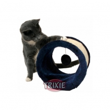 Trixie Spielrolle, Sisal Plüsch  23 × 20 cm, blau