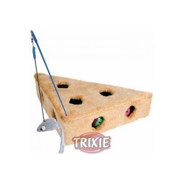 Trixie Cats Cheese mit Spielangel und 3 Spielbällen