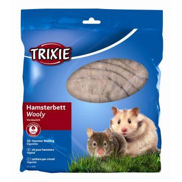 Trixie Hamsterbett Wooly 100 g, braun