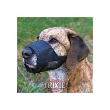 Trixie Maulkorb mit Netzeinsatz L bis XL, schwarz