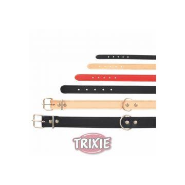 Trixie Halsband Basic M bis L: 39 bis 48 cm 22 mm, natur