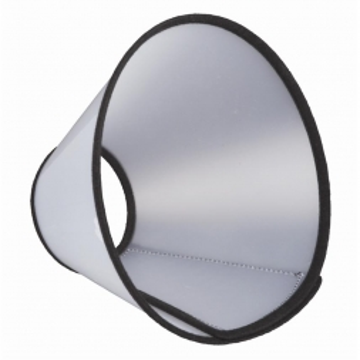 Trixie Schutzkragen mit Klettverschluss, M: 36-43 cm/18 cm