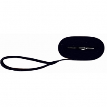 Trixie Schleppleine, Gurtband 5 m 20 mm, schwarz
