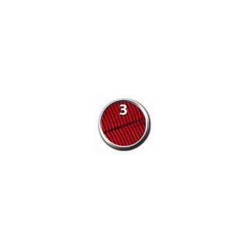 Trixie Premium Comfort Geschirr, L: 60-76 cm/40 mm, rot