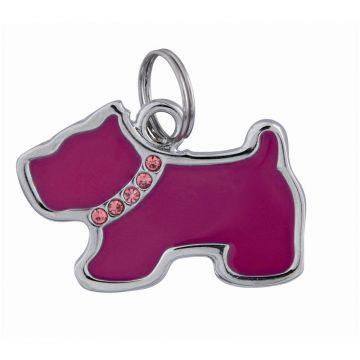 Trixie Schmuckadressanhänger, Hund 35 × 25 mm