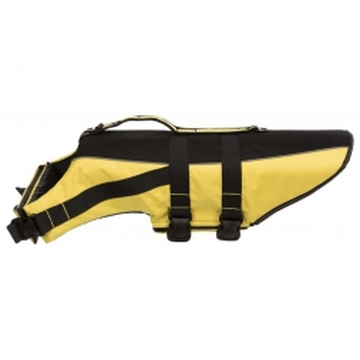 Trixie Schwimmweste gelb/schwarz L