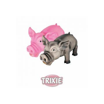Trixie Schwein, Original Tierstimme, Latex 17 cm