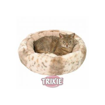 Trixie Kuschelbett Leika, beige weiß beige