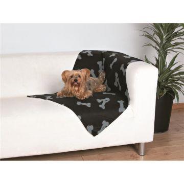 Trixie Beany Fleecedecke 100 × 70 cm, schwarz