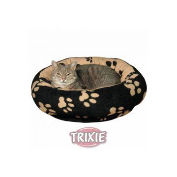 Trixie Kuschelbett Sammy  50 cm, schwarz beige