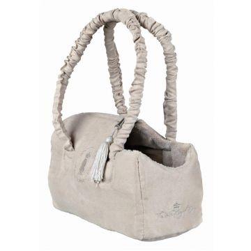 Trixie Hundekönig Tasche, 12 × 17 × 25 cm, beige