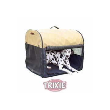 Trixie Transporthütte Gr. S dunkelblau hellblau