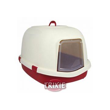 Trixie Katzentoilette Primo XL, mit Haube Tür Griff