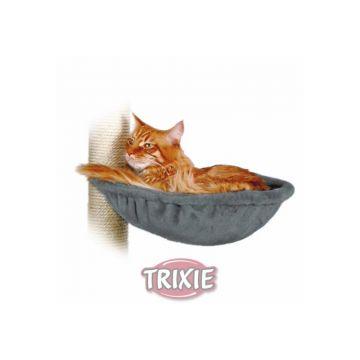 Trixie Liegemulde für Kratzbaum, Metallrahmen, platingrau