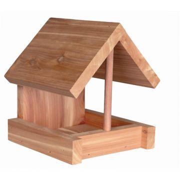Trixie Futterhaus, Zedernholz 16 × 15 × 13 cm, natur