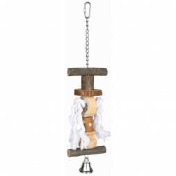 Trixie Natural Living Spielzeug mit Tau Glocke 38 cm