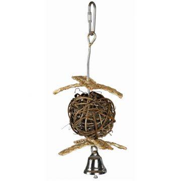 Trixie Weidenball mit Glocke  5,5 cm 18 cm