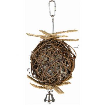 Trixie Natural Living Weidenball mit Glocke 10 cm 22 cm