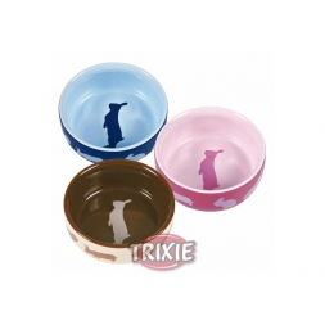 Trixie Keramiknapf mit Motiv, Kaninchen 250 ml  11 cm
