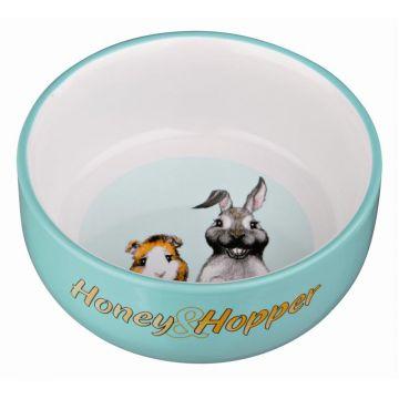 Trixie Honey & Hopper Keramiknapf, 250 ml/d 11 cm