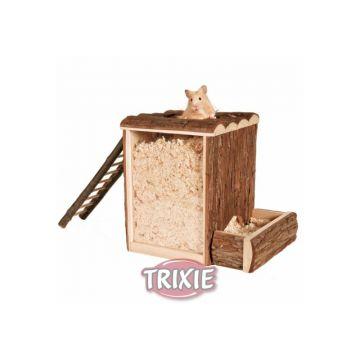 Trixie Natural Living Spiel- und Buddelturm, 25 × 24 × 20 cm