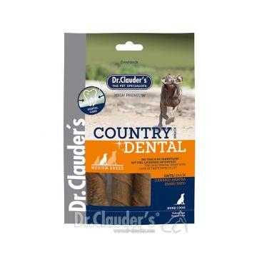 Dr. Clauder Dog Snack Country Dental Snack Ente Medium Breed 120g