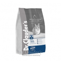 Dr. Clauders Cat High Premium Sterilized Senior/Light 4kg