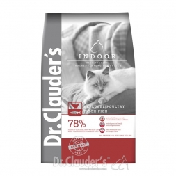 Dr. Clauder´s Cat Trocken High Premium Indoor 400g