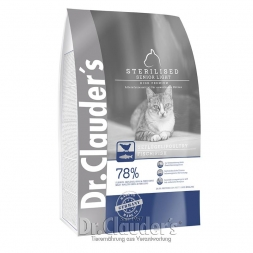 Dr. Clauders Cat High Premium Sterilized Senior/Light 400g