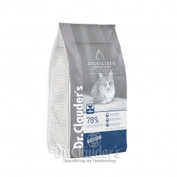 Dr. Clauders Cat High Premium Sterilized Senior/Light 1,5kg
