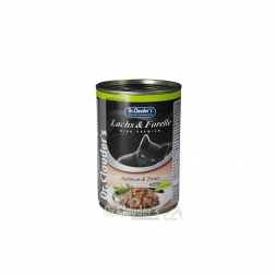 Dr. Clauders Cat Dose Selected Pearls mit Lachs & Forelle 400g (Menge: 6 je Bestelleinheit)