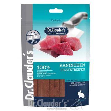 Dr. Clauder Snack Premium Kaninchen Filetstreifen 10 x 80g (Menge: 10 je Bestelleinheit)