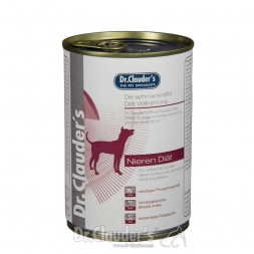 Dr. Clauders Dog Dose Diät RSD Nierendiät 400g  (Menge: 6 je Bestelleinheit)