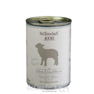 Dr. Clauders Barf Dog Komplettmenü Lammragout 400 g (Menge: 6 je Bestelleinheit)