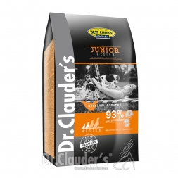 Dr. Clauders Best Choice Junior Medium 4 kg