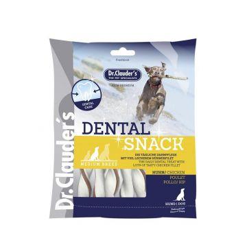 Dr. Clauders Dog Snack Dental Huhn medium breed 170 g